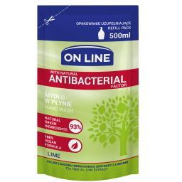 OL MYDŁO REFILL antybakteryjne lime