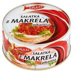 Sałatka z makrelą pikantna 300 g