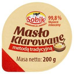 Masło klarowane metodą tradycyjną
