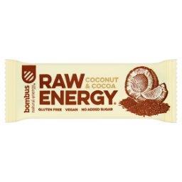 Raw Energy Coconut & Cocoa Baton owocowy