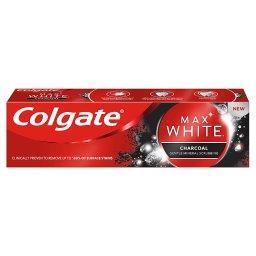 Max White Charcoal Wybielająca pasta do zębów z akty...