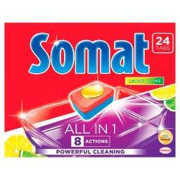 All in 1 Lemon & Lime Tabletki do mycia naczyń w zmy...
