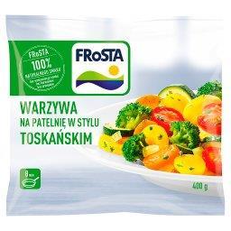 Warzywa na patelnię w stylu toskańskim