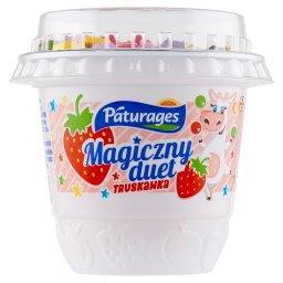 Magiczny duet Jogurt truskawkowy z drażami