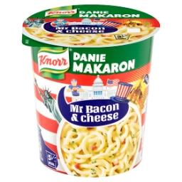 Smaki Świata USA Makaron ser z bekonem