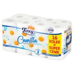 Camilla Papier toaletowy o zapachu rumianku 16 rolek