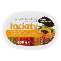 Serek śmietankowy smak indyjski z konopiami i czarnu...