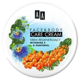 Face&Body Care krem regenerujący witamina E d-panten...