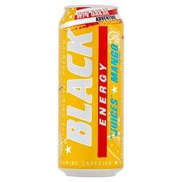 Energy Gazowany napój energetyzujący o smaku mango