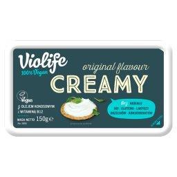 Produkt na bazie oleju kokosowego o smaku original kremowy