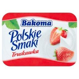 Polskie Smaki Deser jogurtowy z truskawkami