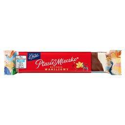Ptasie Mleczko batonik waniliowy w czekoladzie deser...