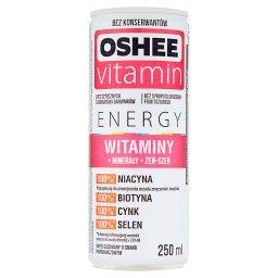 Vitamin Energy Witaminy Napój gazowany o smaku pomar...