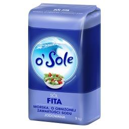 Sól Fita morska o obniżonej zawartości sodu jodowana