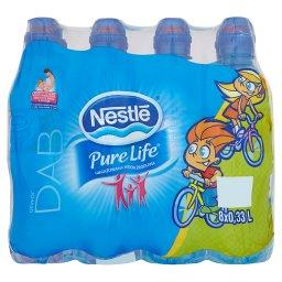 Pure Life Niegazowana woda źródlana 8 x 0,33 l