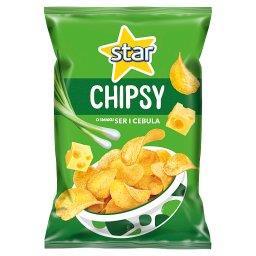 Chipsy o smaku ser i cebula