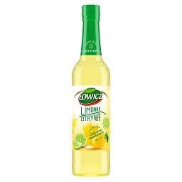 Syrop o smaku limonki i cytryny