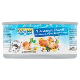 Tuńczyk kawałki w zalewie z olejem słonecznikowym