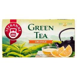 Green Tea Orange Aromatyzowana herbata zielona 35 g ...