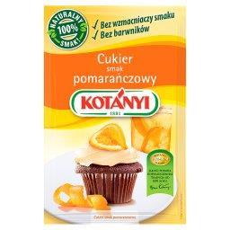 Cukier smak pomarańczowy