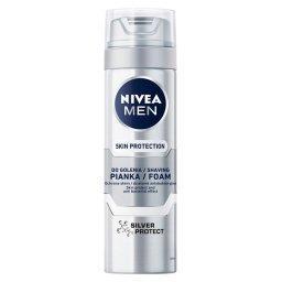 MEN Silver Protect Pianka do golenia