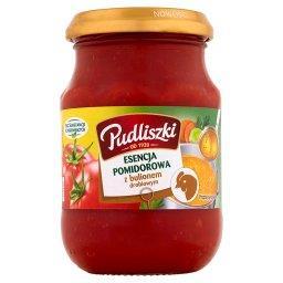 Esencja pomidorowa z bulionem drobiowym