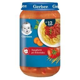 Spaghetti po bolońsku dla dzieci po 12. miesiącu