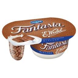 Mleczna Jogurt kremowy z kawałkami czekolady mleczne...