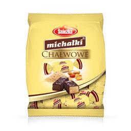 Cukierki czekoladowe Michałki chałwowe 250g