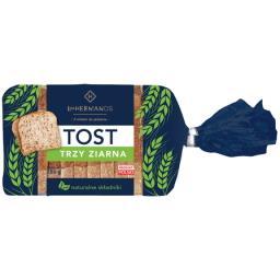 Chleb Tostowy 3 ziarna 250g