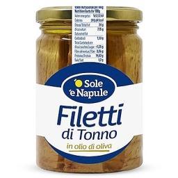 Filety z tuńczyka w oliwie z oliwek 180 g