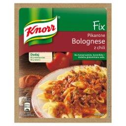 Fix pikantne bolognese z chili