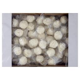 Kulki waflowe z kremem o smaku kokosowym