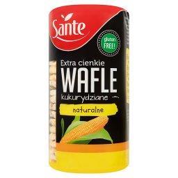 Extra cienkie wafle kukurydziane naturalne