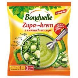 Zupa-krem z zielonych warzyw