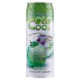 Woda z wnętrza kokosa