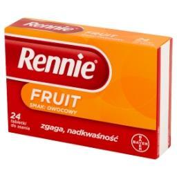 Fruit Tabletki do ssania smak owocowy 24 tabletki