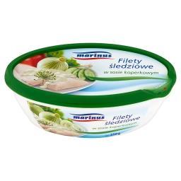 Filety śledziowe w sosie koperkowym