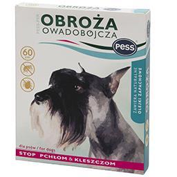 Obroża na pchły i kleszcze zapachowa dla psów 60 cm