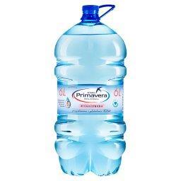 Woda źródlana niegazowana 6 l