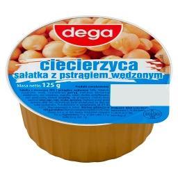Ciecierzyca sałatka z pstrągiem wędzonym 125 g