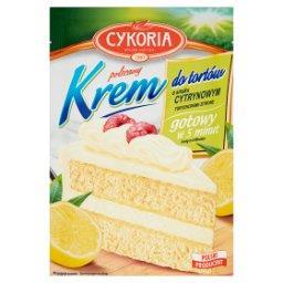 Krem do tortów o smaku cytrynowym