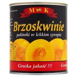 Brzoskwinie połówki w lekkim syropie