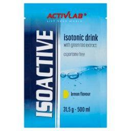 Isoactive Napój izotoniczny instant z dodatkiem ziel...