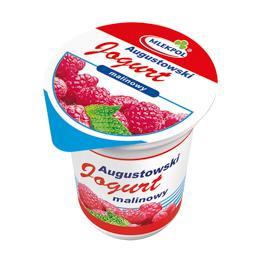 Mlekpol  jogurt augustowski malinowy 0 % 350 g
