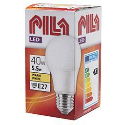 Żarówka LED A60 E27 5,5W 2700K 40W 470lm ciepła biał...