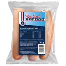 Bułka pszenna do hot-dog 3 sztuki