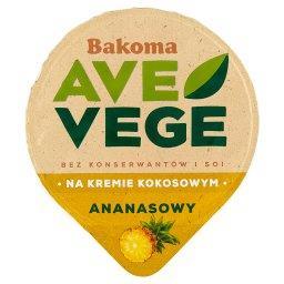 Ave Vege Deser na kremie kokosowym ananasowy