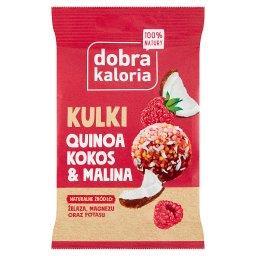 Dobra Kaloria Quinoa na okrągło kokos & malina 24 g