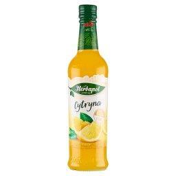 Suplement diety syrop o smaku cytrynowym